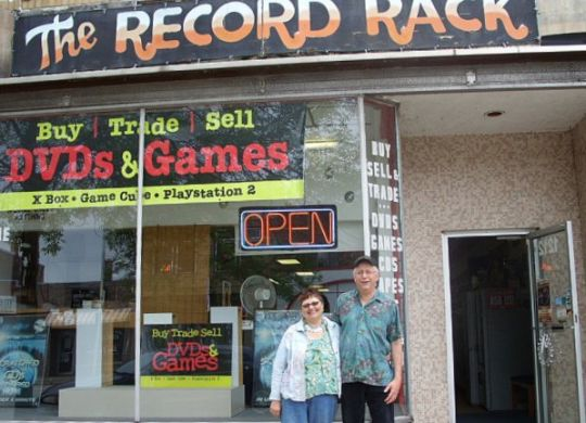 The Record Rack 1212 Ludington St. Escanaba MI