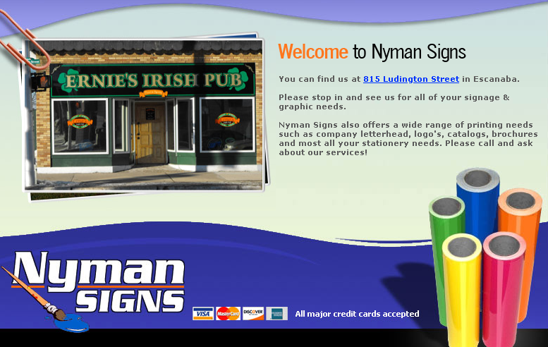 nymans signs